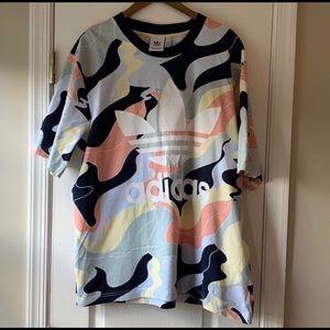 Adidas Multicolor Camo T-Shirt